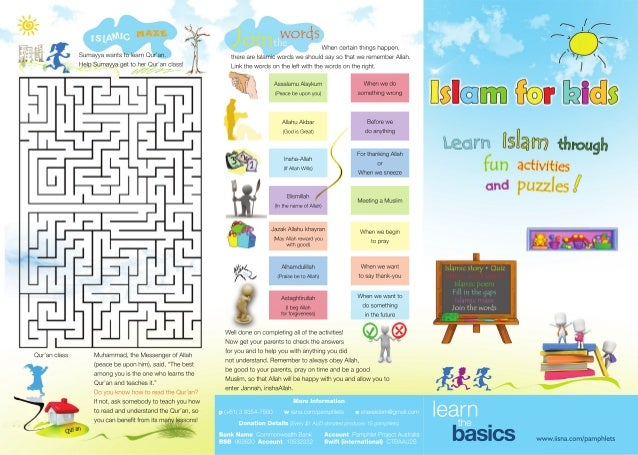 Islamic Beliefs For Kids
