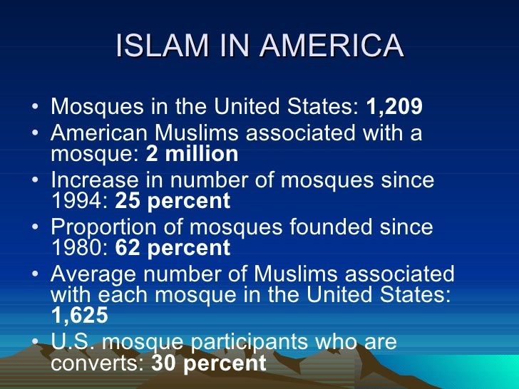 islam in america Muslim americans must refrain from consuming food or islam in america drink  and all other type of sin this can be difficult enough, but for muslims in america it .