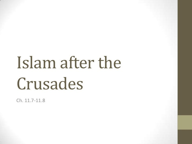 Islam after the crusades