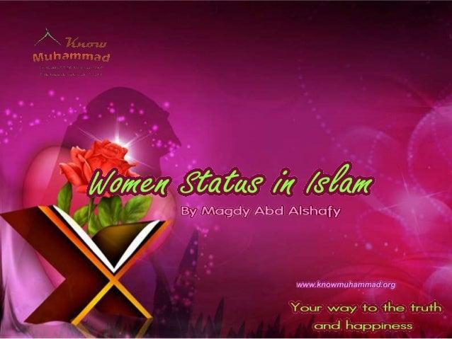 Islam honours women