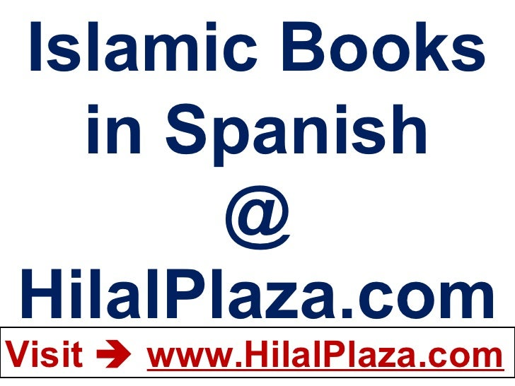 Islamic Books in Spanish @ HilalPlaza.com