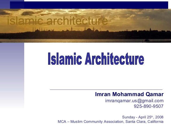 Imran Mohammad Qamar                          imranqamar.us@gmail.com                                      925-890-9507   ...
