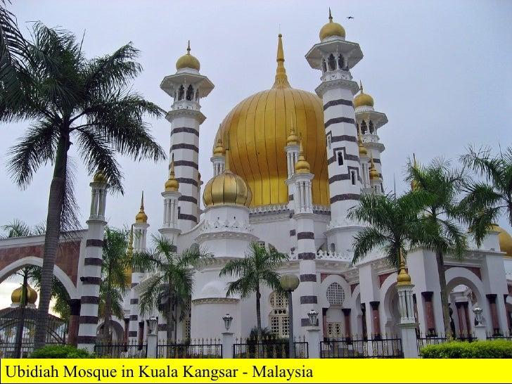 Ubidiah Mosque in Kuala Kangsar - Malaysia