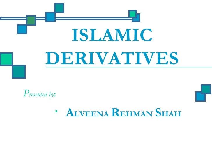 Islamic derivatives