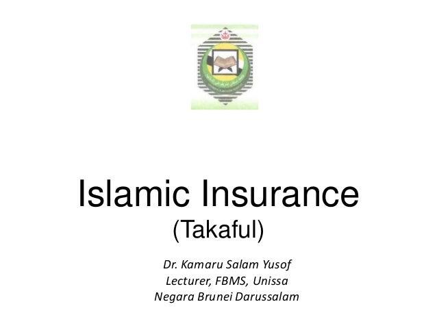 Islamic insurance 2014   topic 3