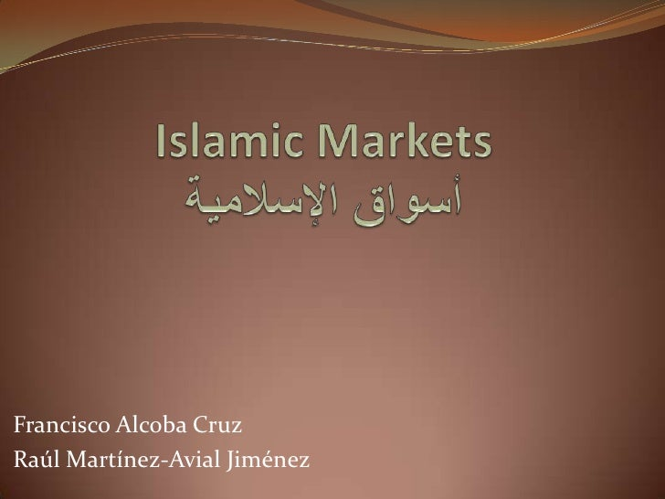 Islamic markets
