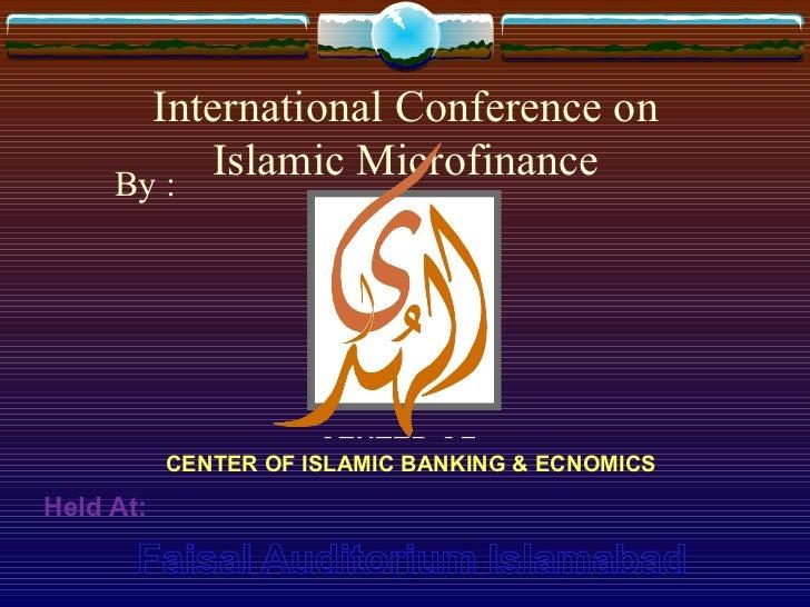 Islamic microfinance by qazi abdul samad