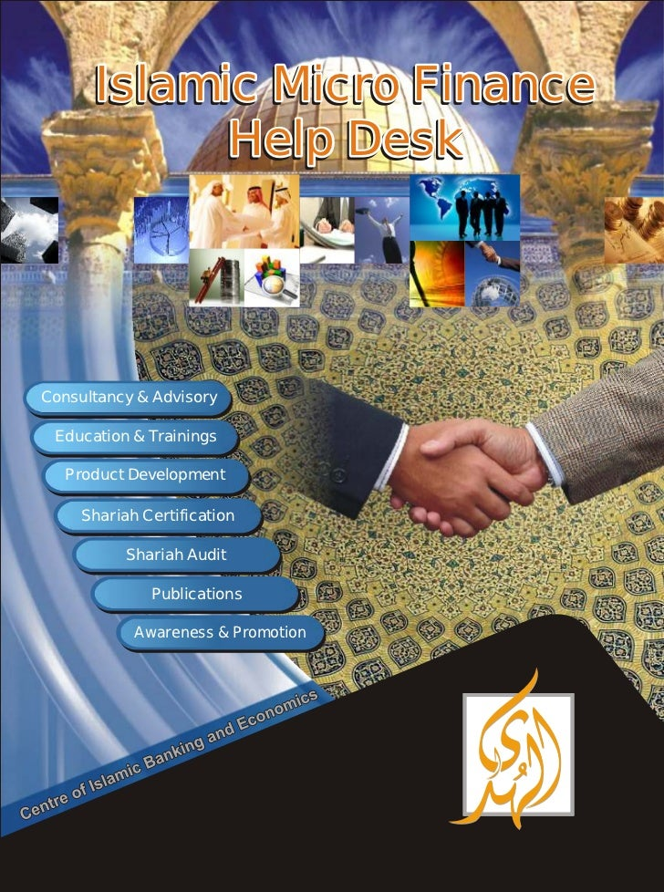 Islamic Micro Finance            Help DeskConsultancy & Advisory     Consultancy Education & Trainings  Education Training...