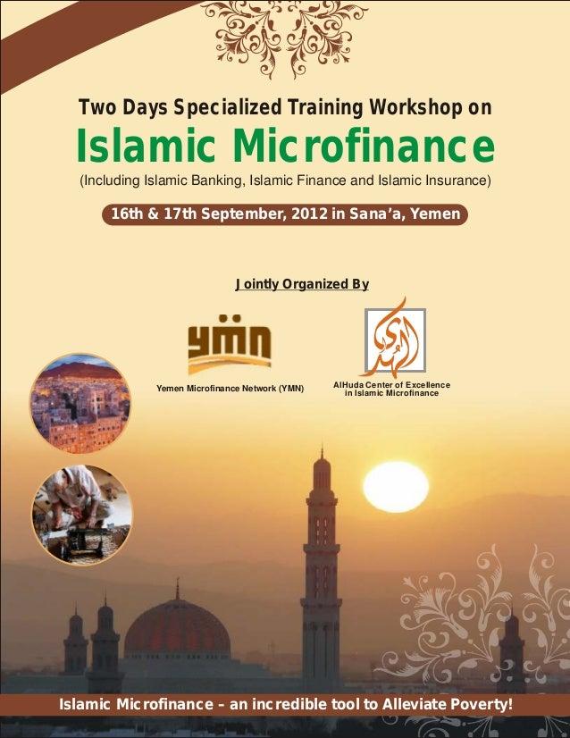 Islamic Microfinance Workshop Yemen