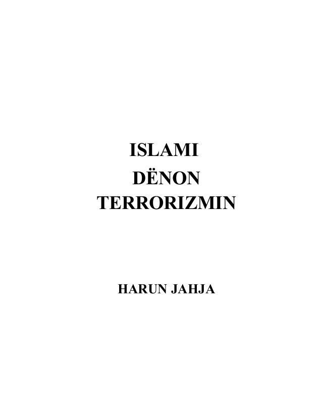 ISLAMIDËNONTERRORIZMINHARUN JAHJA