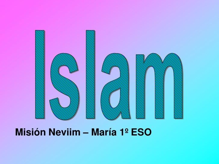 Misión Neviim – María 1º ESO