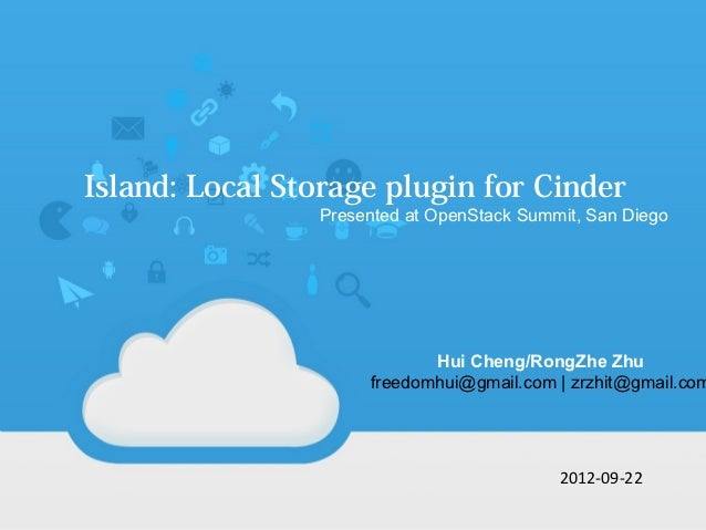 Island: Local Storage Volume for Cinder