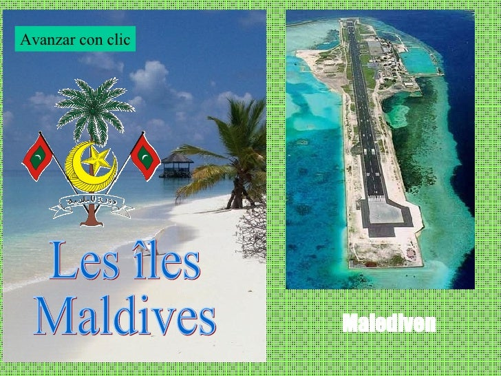 Islas Maldives