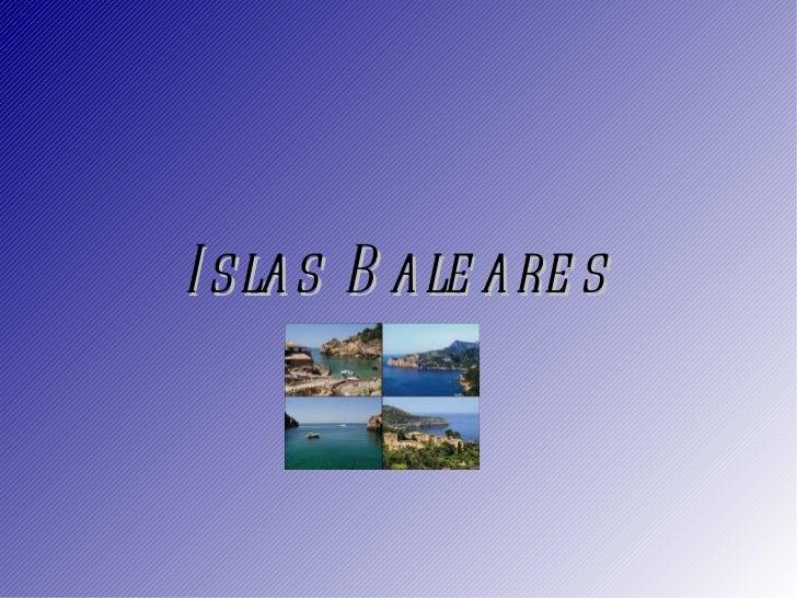 Islas Baleares para Aïcha