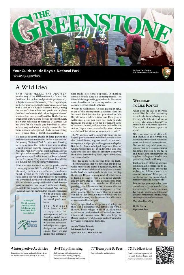NostalgicOutdoors™- Isle Royal National Park- Visitor Guide