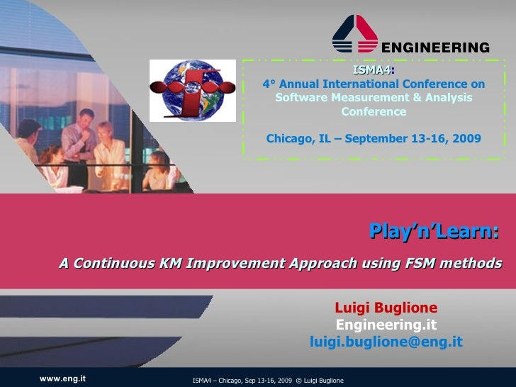 Play'n'Learn: A Continuous KM Improvement Approach using FSM methods