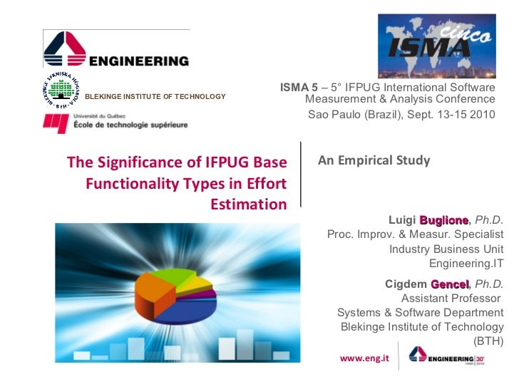 The Significance of IFPUG in Effort Estimation Base Functionality Types