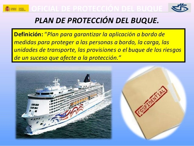 ship security plan Ship security assessment (ssa) the ship security assessment (ssa) is to be carried out before developing the ship security plan (ssp), and is a major element in the process of developing or updating the ssp it is the responsibility of the company security officer.