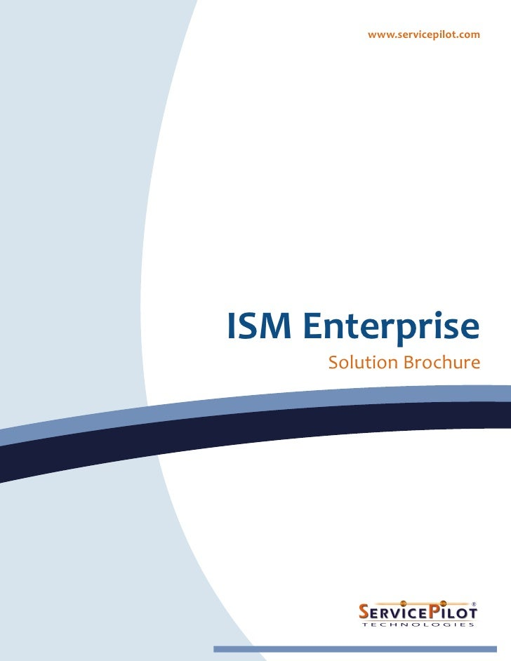ServicePilot ISM Enterprise Datasheet [EN]