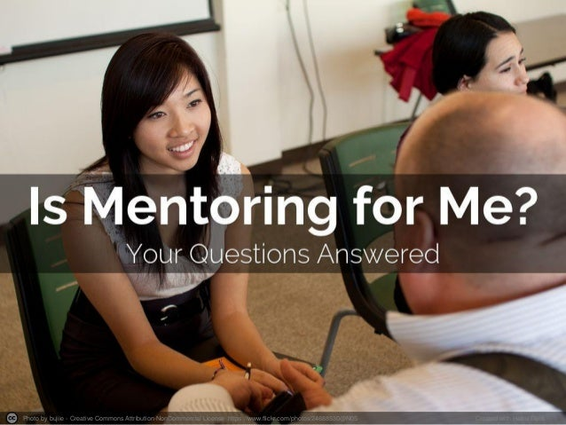 Is Mentoring for Me?