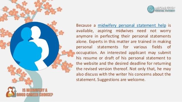 Personal statement midwifery