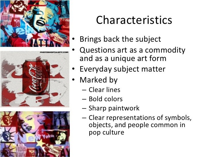Characteristics Of Line In Art : Pop art powerpoint