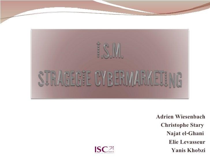 Ism Webmarketing Strategy