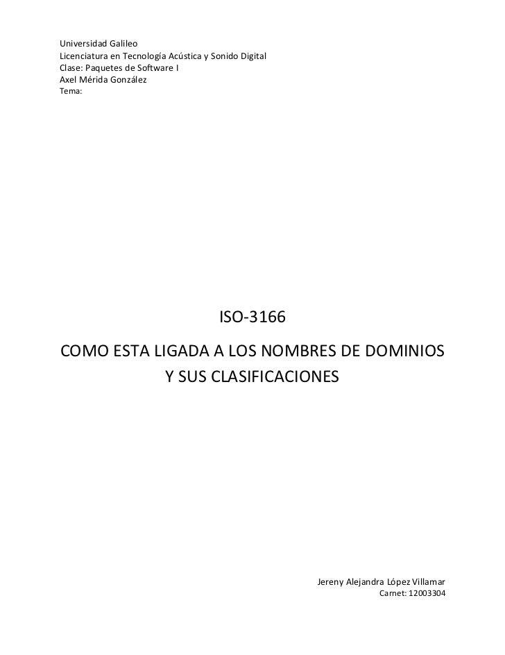 Universidad GalileoLicenciatura en Tecnología Acústica y Sonido DigitalClase: Paquetes de Software IAxel Mérida GonzálezTe...