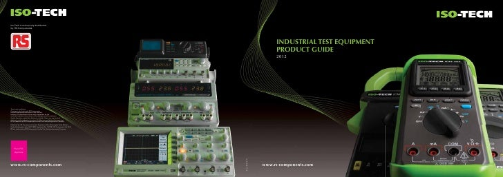 Iso-Tech is exclusively distributedby RS Components                                                                       ...