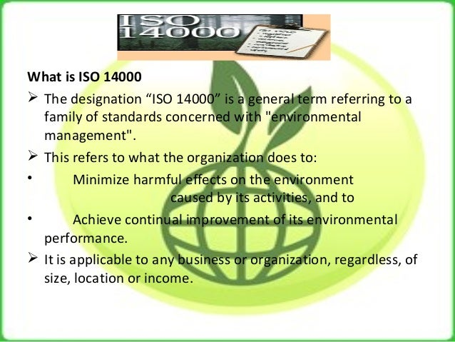 iso 14000 family of standards pdf