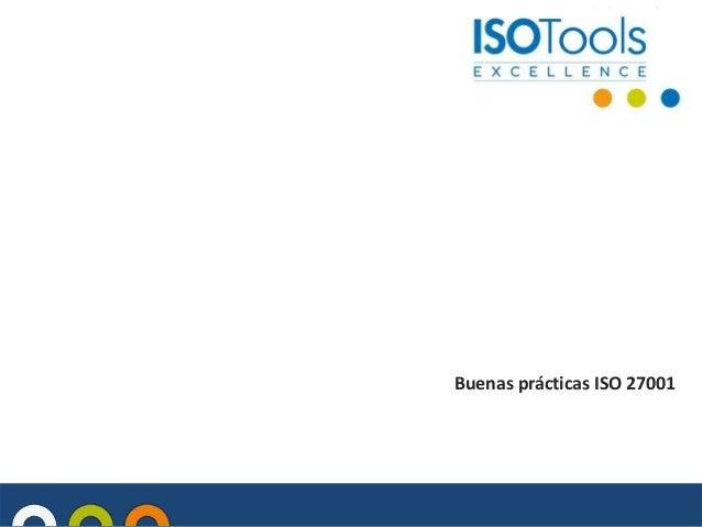 Vídeo - Buenas prácticas ISO 27001