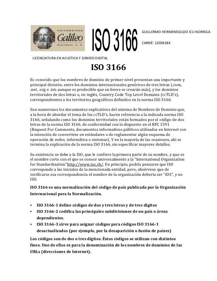 GUILLERMO HERMENEGILDO ICU NORIEGA                                                              CARNÉ: 12004184    LICENCI...