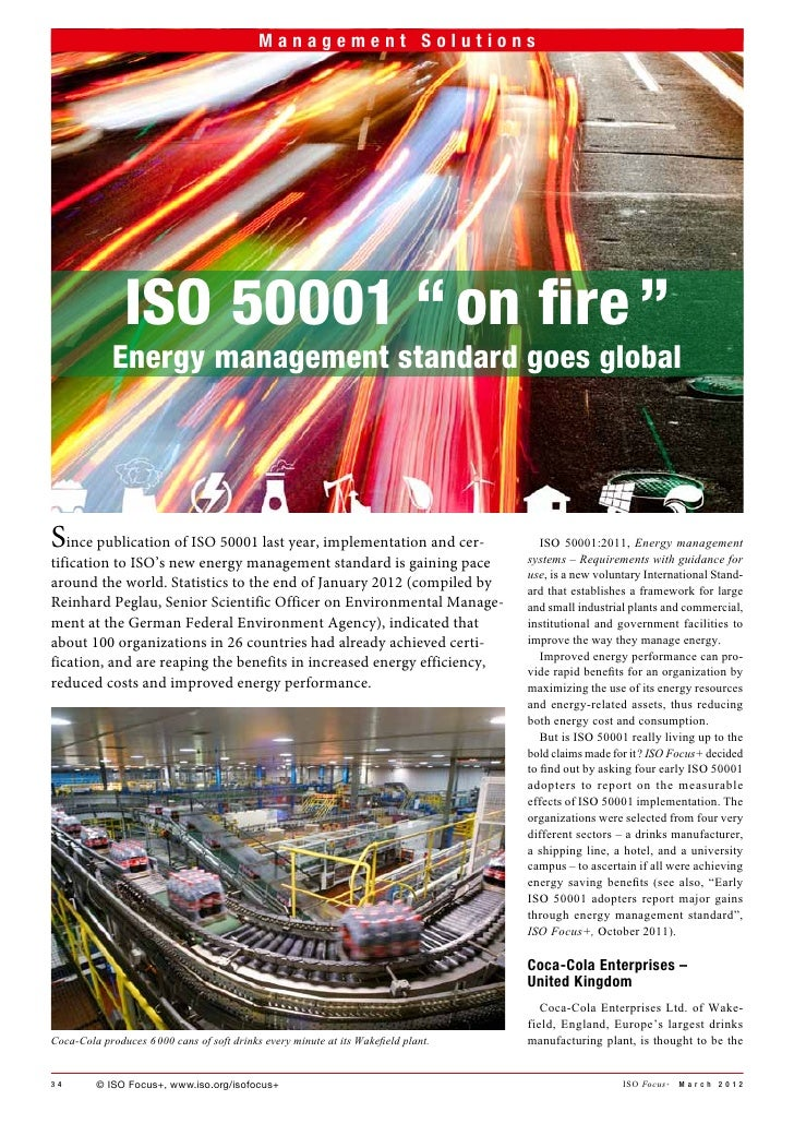 """a Management Solutions                       Management Solutions               ISO 50001 """"on fire""""             Energy m..."""