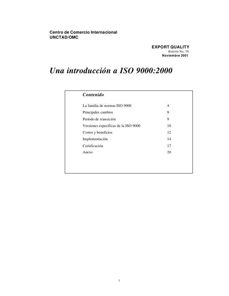 Centro de Comercio Internacional UNCTAD/OMC                                                        EXPORT QUALITY         ...
