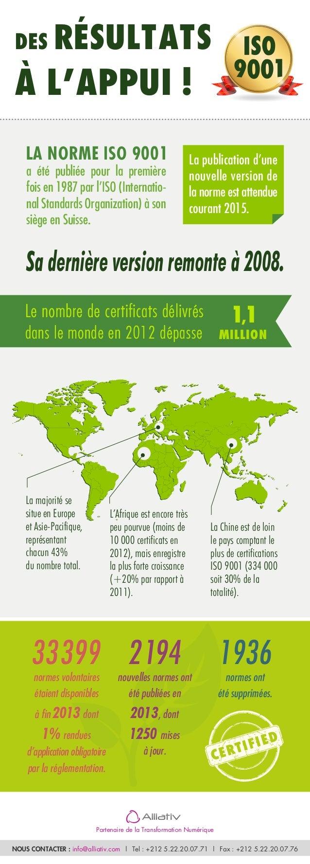 33399normes volontaires étaient disponibles à fin 2013dont 1%rendues d'application obligatoire par la réglementation. 2194...