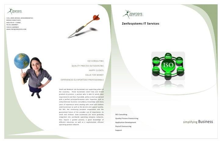Zenfosys ISO Overview