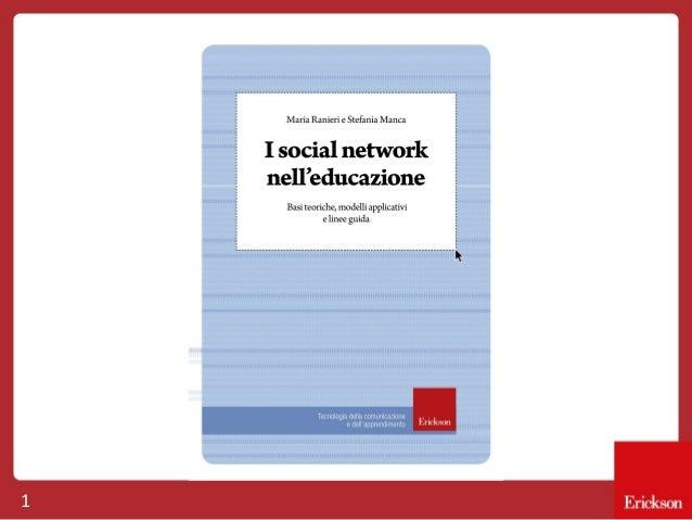 I social network nell'educazione
