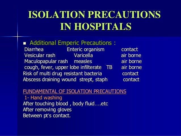 Isolation Precautions Signs Isolation Precautions in