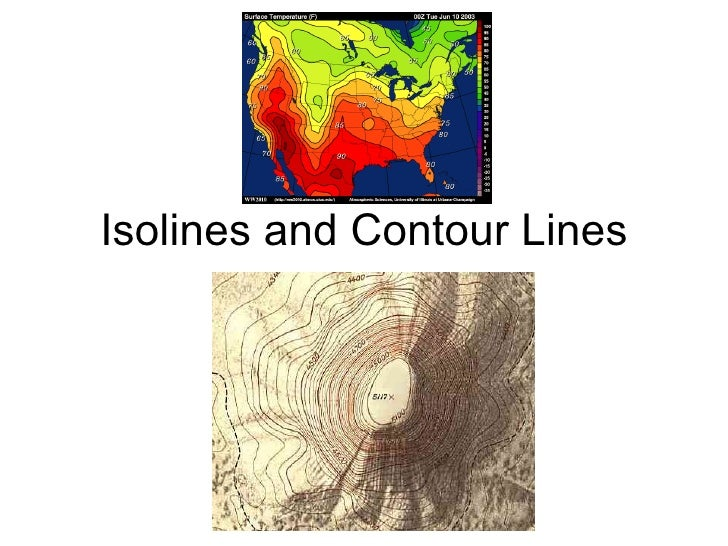 Isolines and Contour Lines