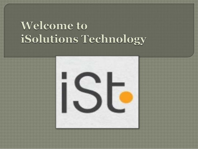    iSolutions Technology, is a specialized online service    provider of services including Web Design Perth,    Graphic ...
