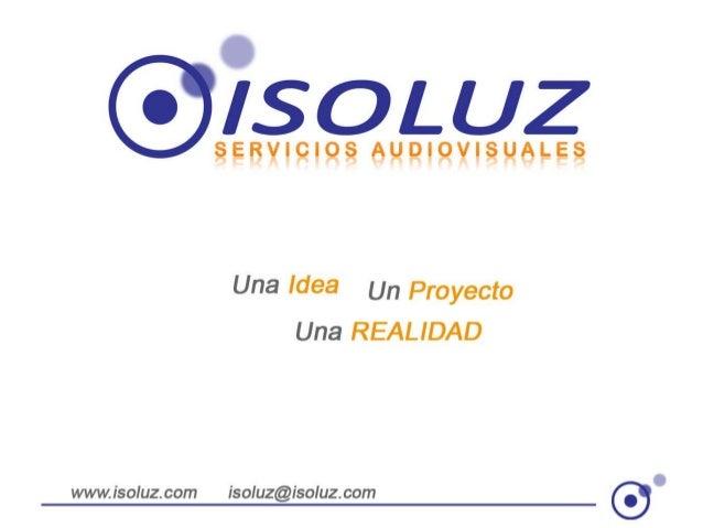 Isoluz en Negocio Abierto - Enero 2014