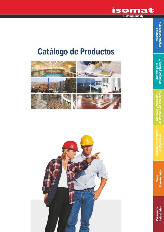 ISOMAT_Catálogo de Productos_2012_esp