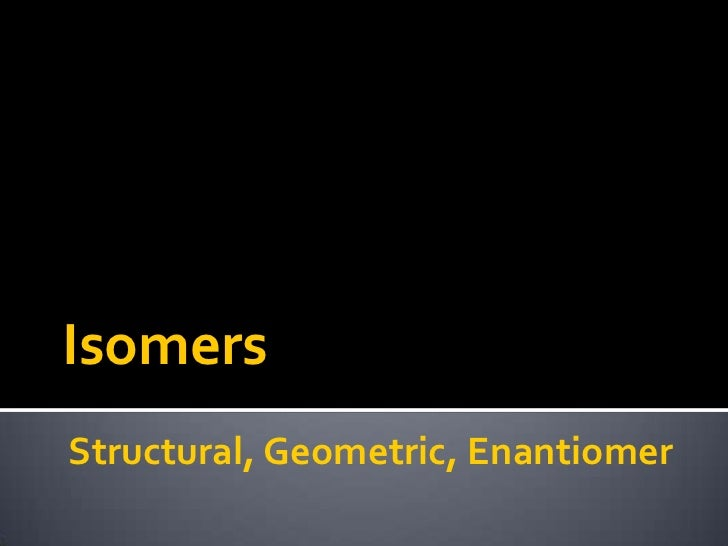 Isomers lesson