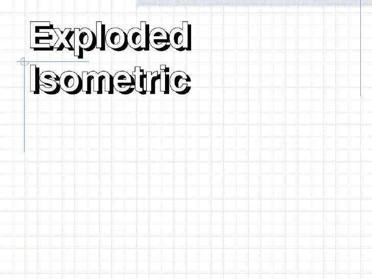 Isometric Exploded Prompted