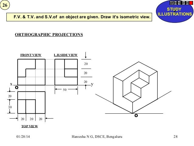 orthographic and isometric projection pdf