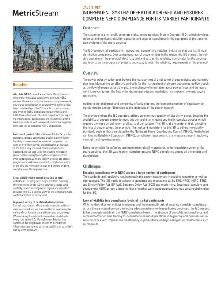 NERC Compliance Solution