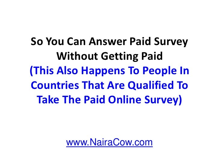 Category: Make Money Filling Out Surveys | Comments