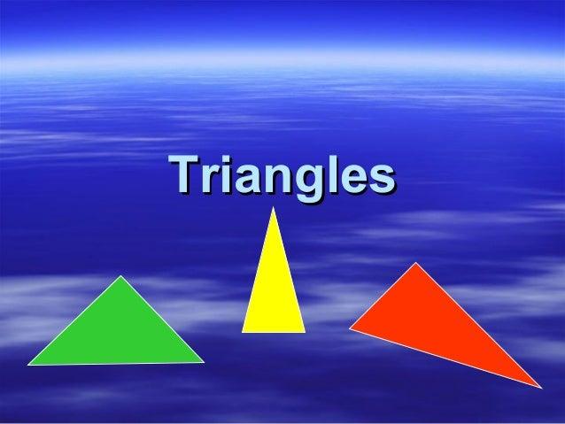Isosceles triangles (1)