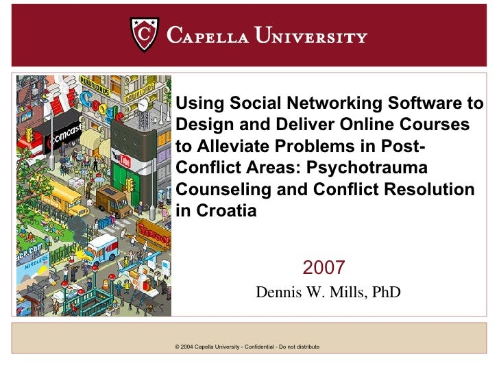 2007 Using Social Networking   Software to Design and Deliver Online Courses to Alleviate Problems in Post-Conflict Areas:...