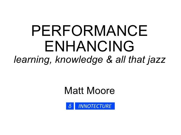 ISPI - Feb 2010 - Performance Enhancing